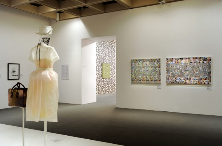 """Louis Vuitton a passion for creation"" exhibition - Hong-Kong"